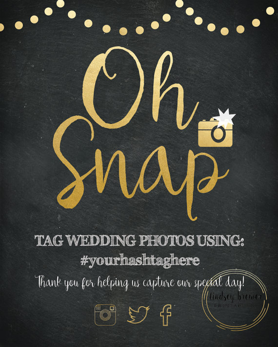 How To Choose A Wedding Hashtag This Fairy Tale Life