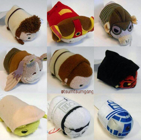 Star Wars Tsum Tsums are Coming