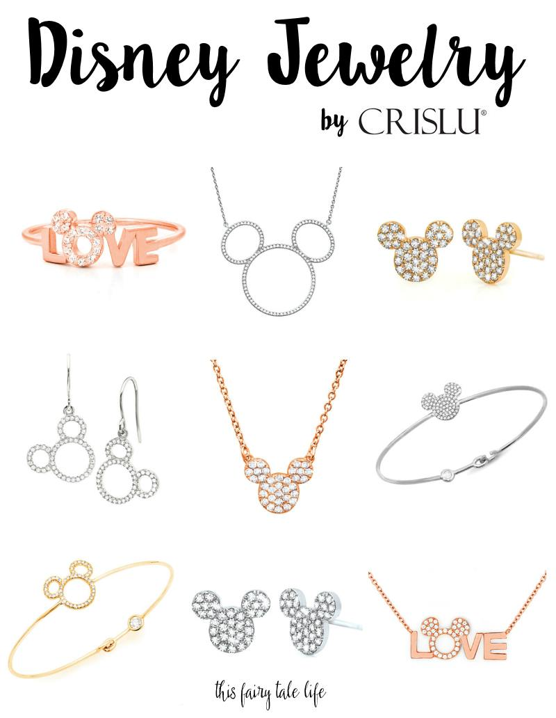 Rose Gold, Mickey, and Sparkles - New Chic Disney Jewelry from Crislu