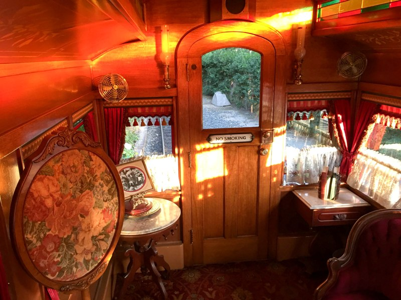 Riding in Style: My Trip on the Lilly Belle at Disneyland