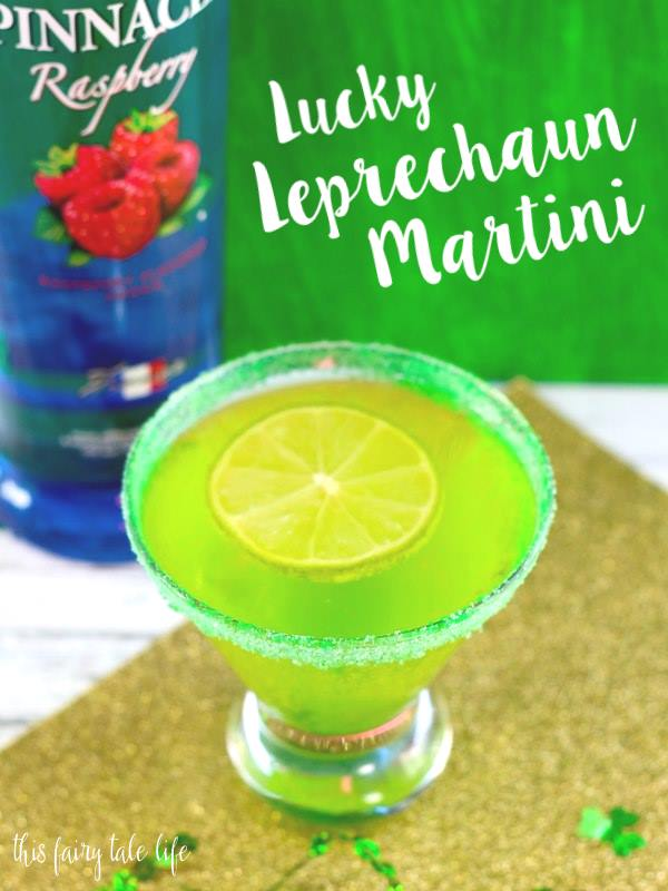 Lucky Leprechaun Martini Recipe