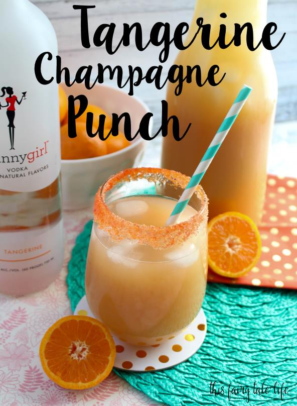Tangerine Champagne Punch Recipe
