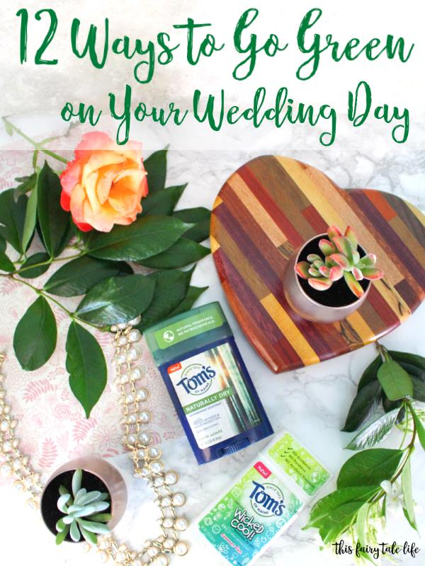 12 Ways to Go Green on Your Wedding Day