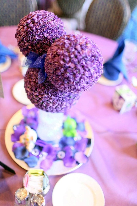 DIY Rose Mickey Pomander Centerpieces
