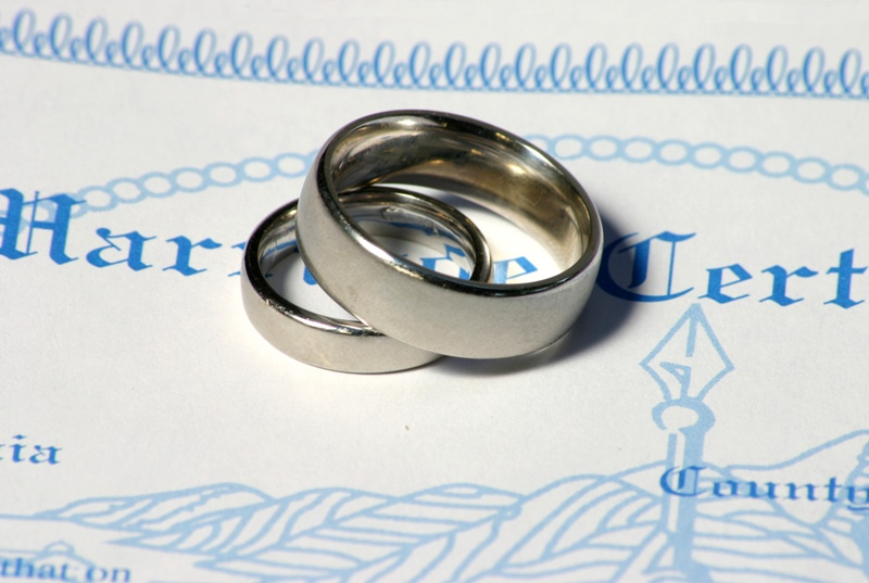 How to Obtain Your Marriage License Through Your Officiant