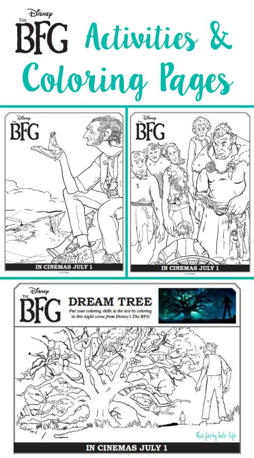 The BFG Gobblefunk Glossary and Activities