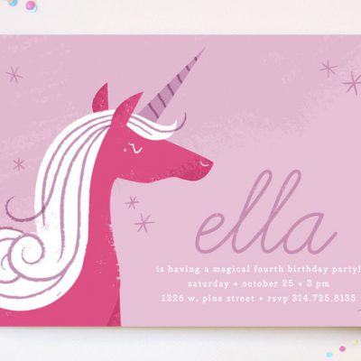 Enchanting Invitations for a Princess Party or Shower