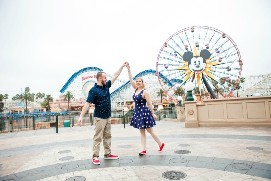 5 Tips for Taking Disneyland Engagement Photos