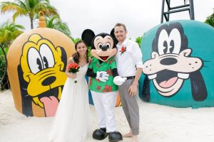 Dominique and Jonathan's Castaway Cay Disney Wedding
