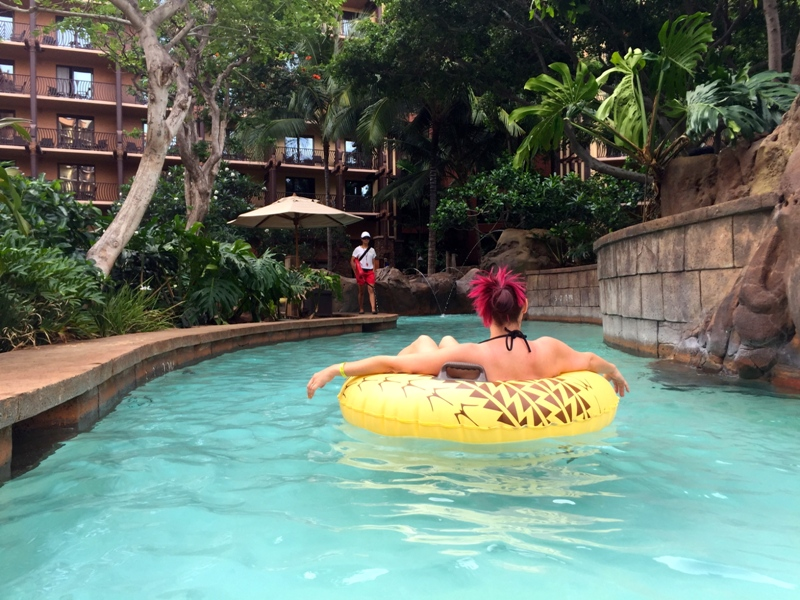 Hawaii Trip Report – Day 5 – Aulani Laniwai Spa Day!