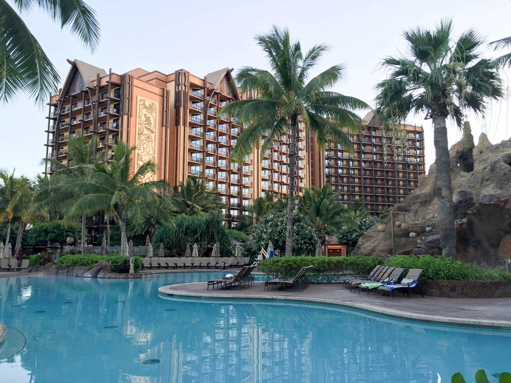 Hawaii Trip Report – Day 2 – Aulani Beach Day