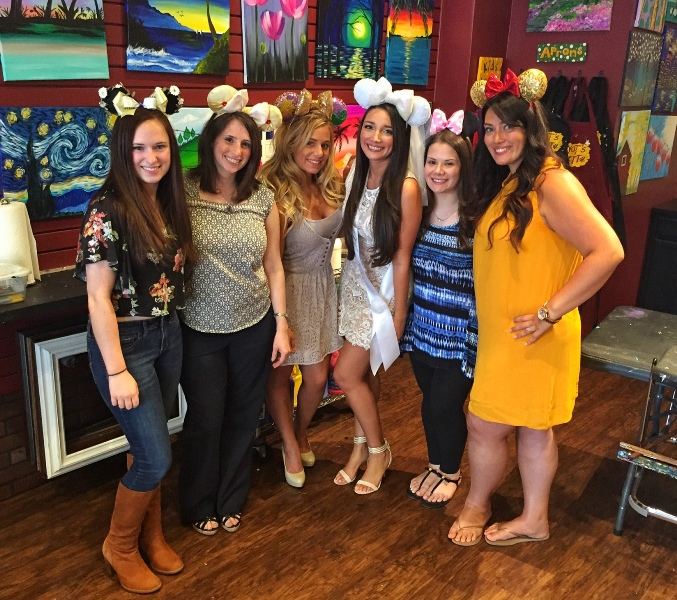 Putting a Disney Spin on a Traditional Bridal Shower
