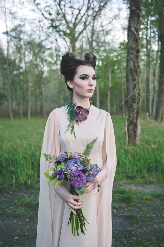 Romantic Maleficent Fantasy Wedding Shoot