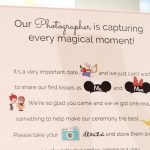 This Disney Unplugged Wedding Sign is Too Cute