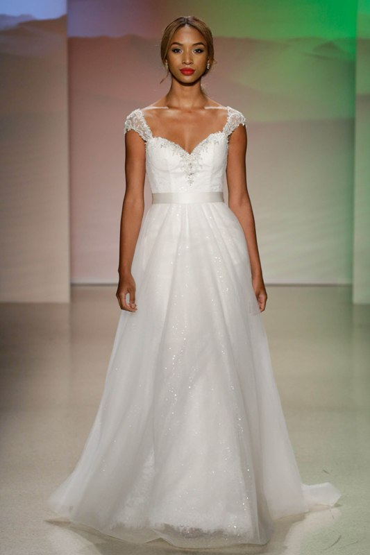 Your First Look at the 2017 Disney Wedding Gowns from Alfred Angelo