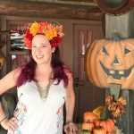 DIY Fall Flower Crown Mickey Ears