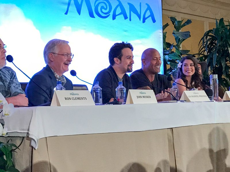 Interviews with the Creators and Cast of MOANA