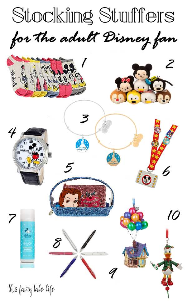 Disney Stocking Stuffer Gifts for Adults