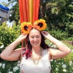 DIY Sunflower Mickey Ears