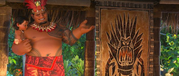 MOANA Fun Facts and Hidden Easter Eggs