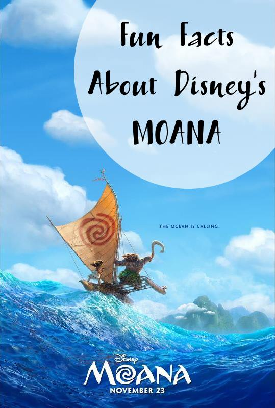 MOANA Fun Facts and Easter Eggs