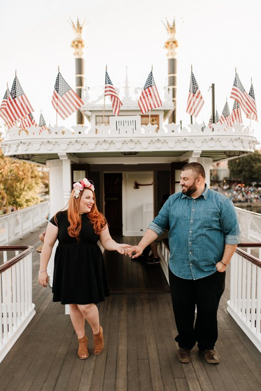 Alex and Claudia's Anniversary Photo Shoot at Disneyland Park