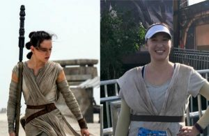 STAR WARS Rey Running Costume Tutorial