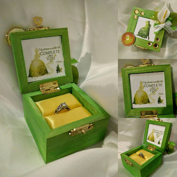 Disney Princess Engagement Ring Box