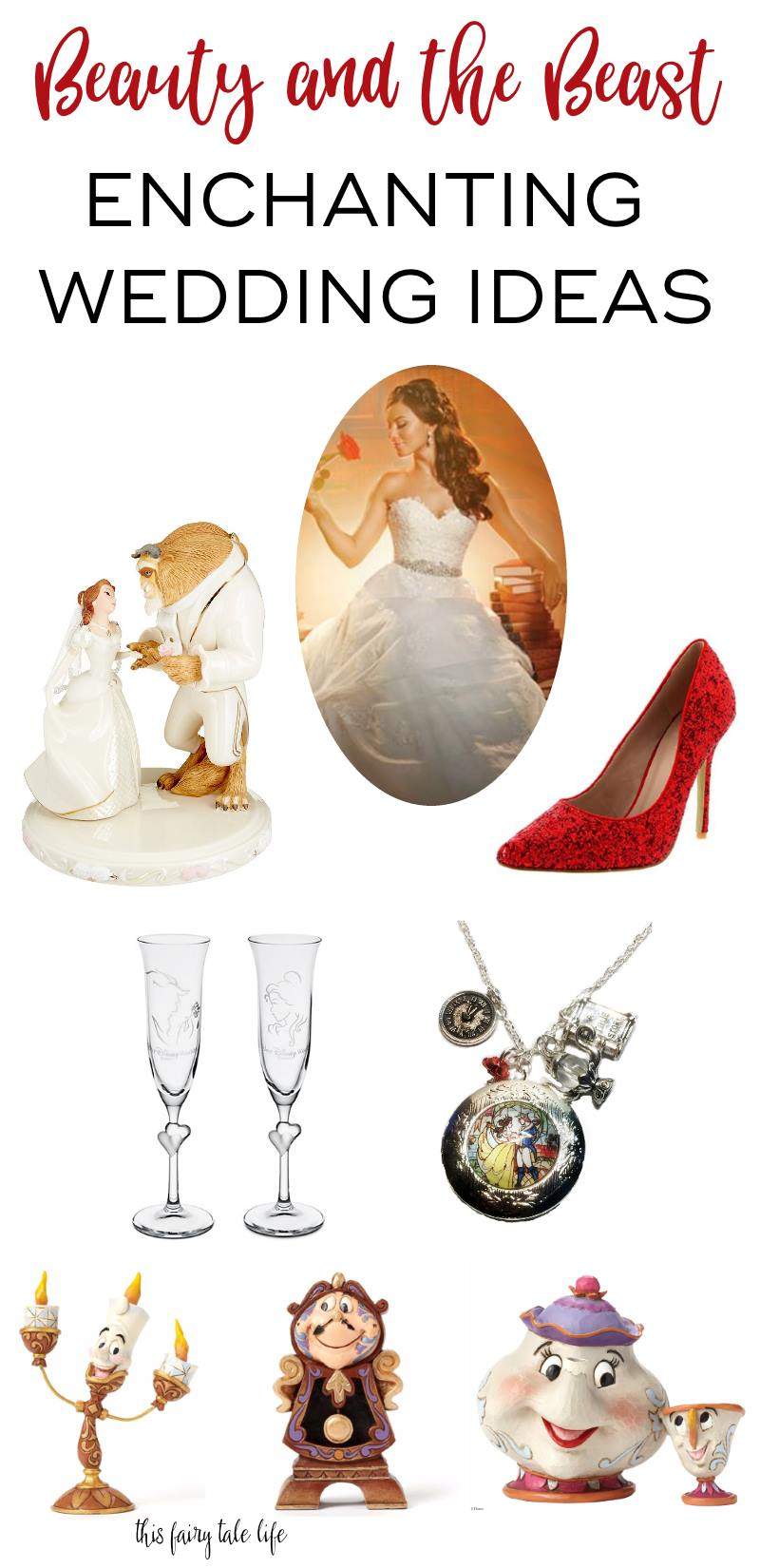 15 Enchanting BEAUTY AND THE BEAST Wedding Ideas - This Fairy Tale Life