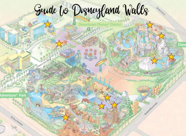 A Definitive Guide to Disneyland Wall Photo Spots