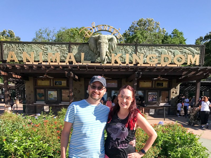 Our Earth Day Date at Disney's Animal Kingdom