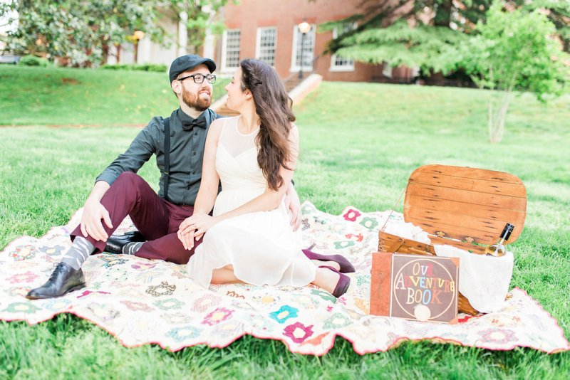 Amanda and Ryan's Super Sweet UP Engagement Photos