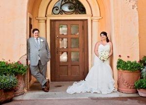 Lauren and Ryan's Modern Romantic Epcot Italy Wedding