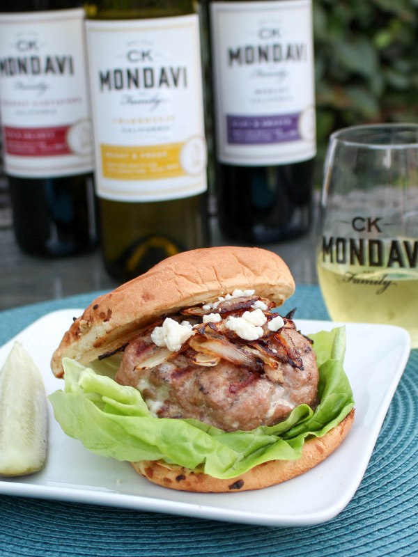 Blue Cheese and Bacon Turkey Burger Recipe