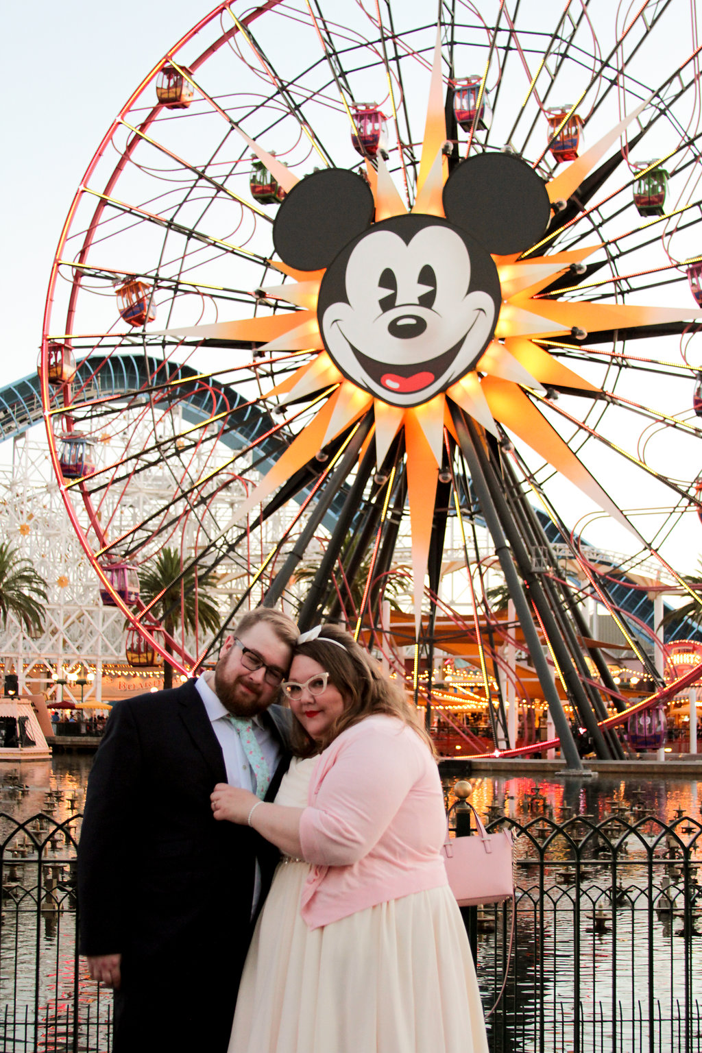 Steph and Shelby's Wedding Day Disneyland Photo Shoot!