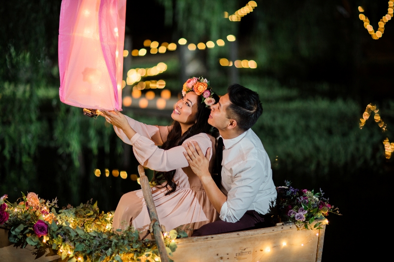 All the Dreamy Feels for this Tangled Inspired Engagement Shoot