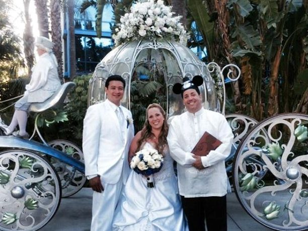 Ceremony Idea: Comparing Disney Attractions to Married Life