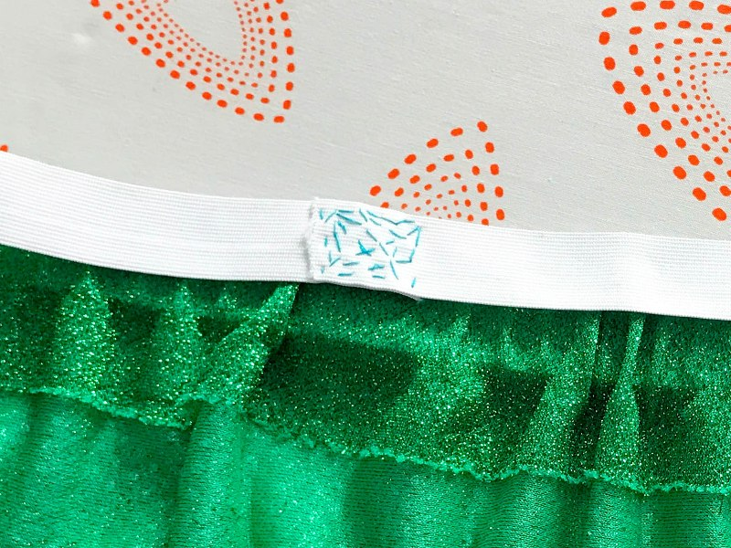 DIY Running Sparkle Skirt Tutorial