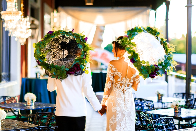 A Beautiful Wedding Shoot at Jazz Kitchen in Downtown Disney