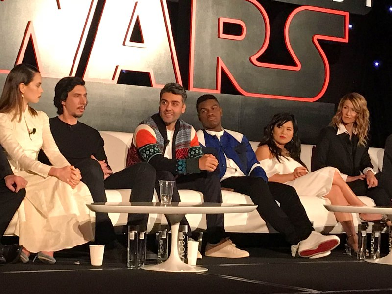 Interviews With the Cast of STAR WARS: THE LAST JEDI