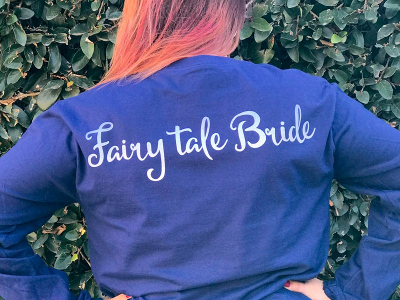 Consider Yourself a Fairy Tale Bride? You are Gonna Want to See These New Shirts!