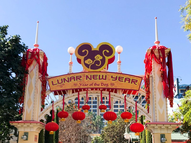 Celebrate Lunar New Year at Disneyland!