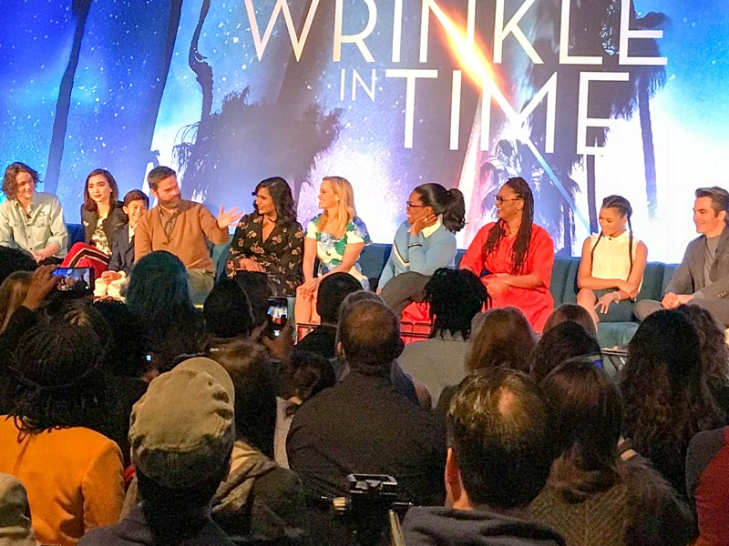 Interviews with A WRINKLE IN TIME Cast and Creators
