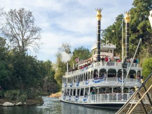 NEW In-Park Disneyland Wedding Option: Mark Twain Riverboat!