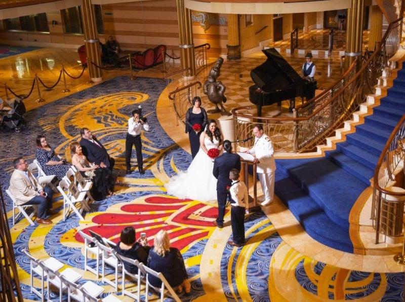 Ashley and Simon's Enchanting Disney Dream Cruise Wedding
