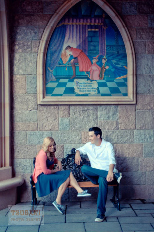 Becca and Mike Disneyland Engagement Session