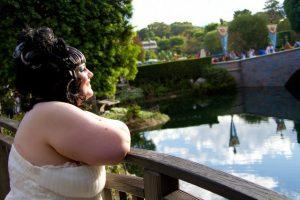 Real Disneyland Bridal Portrait Session – Corinna