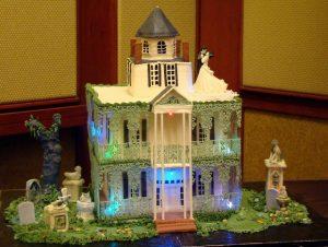 Halloween Wedding Cakes - Disney Style!