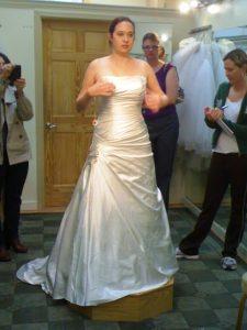 Mindy Versus the Wedding Dress Industry – Part One