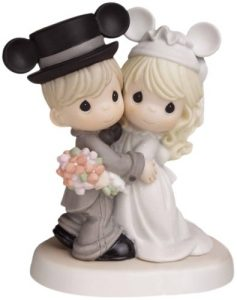 Disney Figurines as Cake Toppers